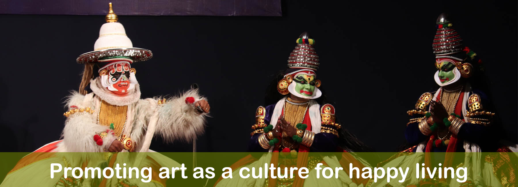 Promoting art as a culture for happy living